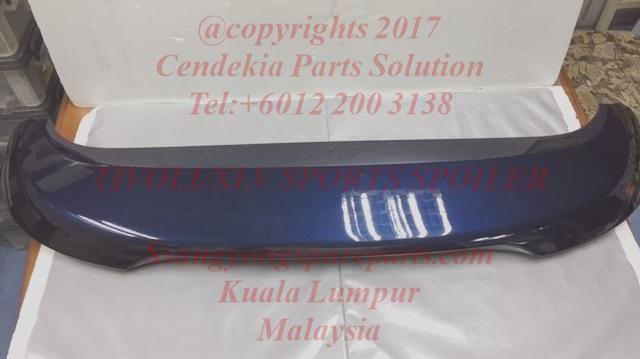 7961035300bas Spoiler Tail Ssangyong Tivoli Xlv With Led Lamp